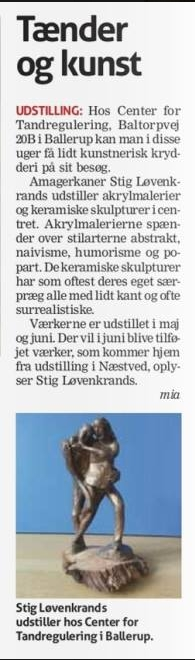 omtale i Ballerup Bladet uge 21 2015