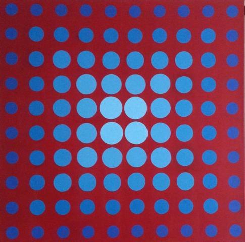 nr.239 100 Circles pic 2 100x100 cm JR