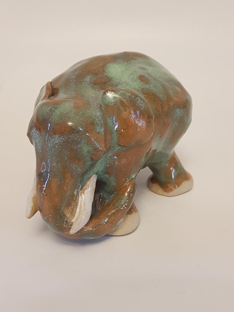 K627-2019 Elefant Shun 4 glasur p2